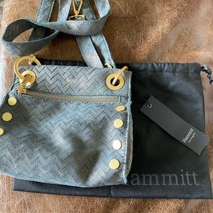 NWT Hammitt Tony bag in light blue